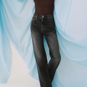 Zara straight full length jeans